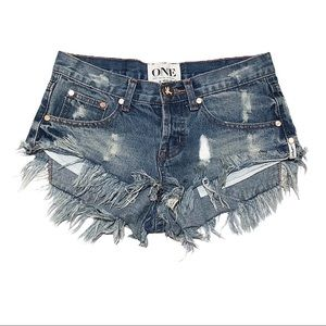 ONE x One Teaspoon | Bonitas Shorts